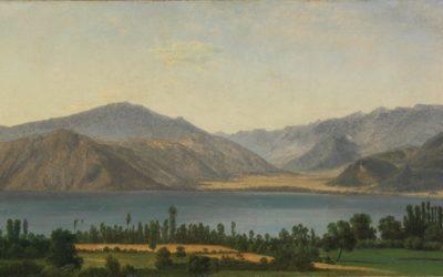 Il lago Fucino e le montagne degli Abruzzi – Jean-Joseph-Xavier Bidauld
