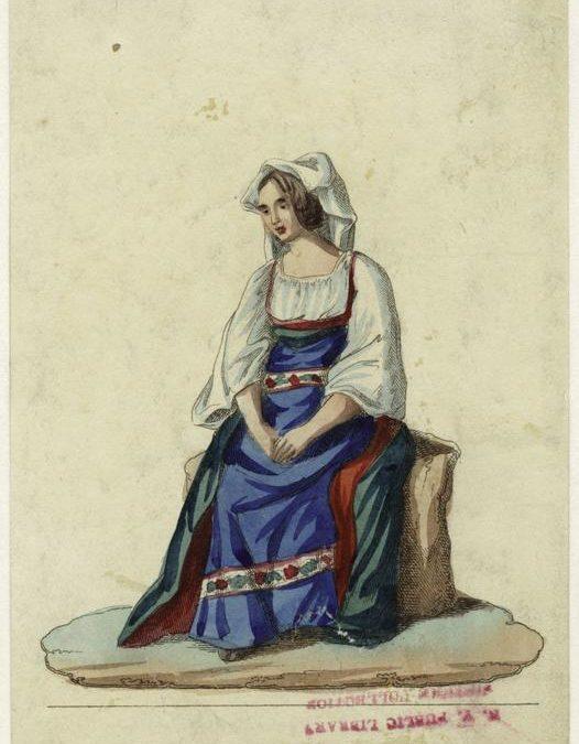 Donna del lago di Fucino – Salvatore Marroni