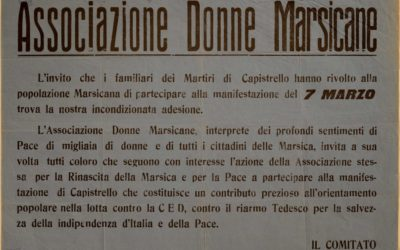 Testimonianze storiche nei manifesti dell'UDI – Unione Donne in Italia