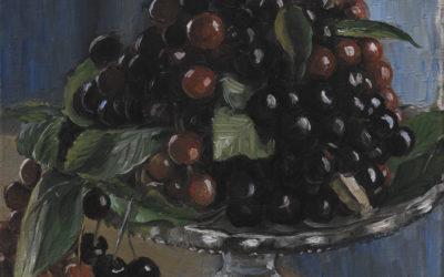 Ciliegie in una fruttiera. Civita d'Antino – Poul Simon Christiansen
