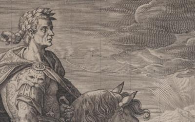 L'Imperatore Claudio e la naumachia sul Fucino – Adriaen Collaert