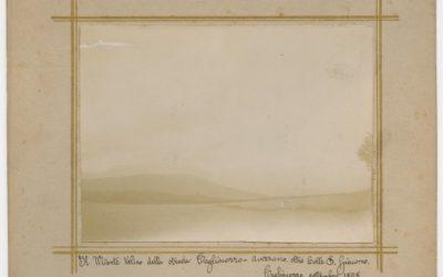 Il Monte Velino dalla strada Tagliacozzo – Avezzano oltre Colle S. Giacomo