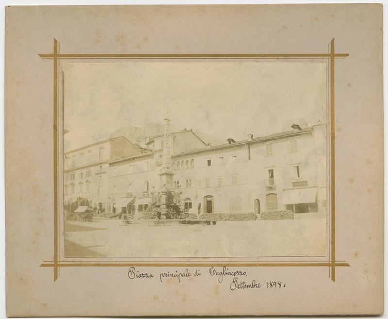 Piazza principale di Tagliacozzo