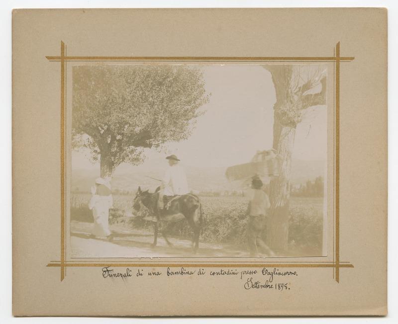 Funerali di una bambina di contadini presso Tagliacozzo