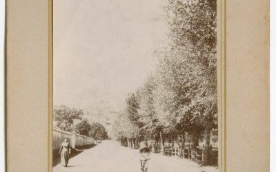 Strada da Avezzano a Tagliacozzo presso il convento dei Cappuccini