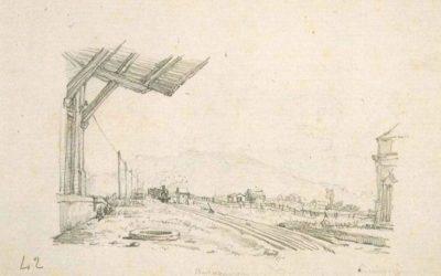 Veduta della stazione di Avezzano – Antonio Piccinni