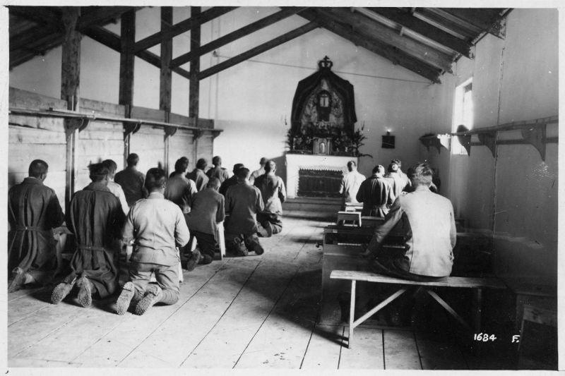 La chiesa del Campo di concentramento di Avezzano