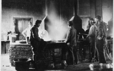 Le cucine del campo di Concentramento di Avezzano