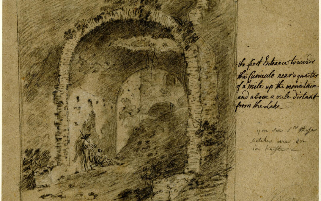 Primo ingresso del Cunicolo – Richard Wilson (attribuito)