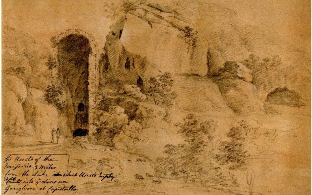 I Cunicoli di Claudio e l'emissario del Fucino nei disegni del British Museum
