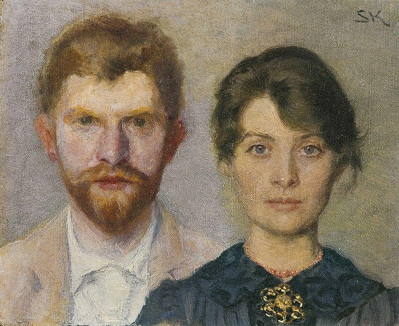 Ritratto di un matrimonio: Peder Severin Krøyer e Marie Triepcke
