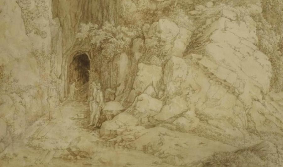 Emissario di Claudio – Lago Fucino – Jakob Philipp Hackert