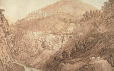 Capistrello e Emissario di Claudio – Jakob Philipp Hackert