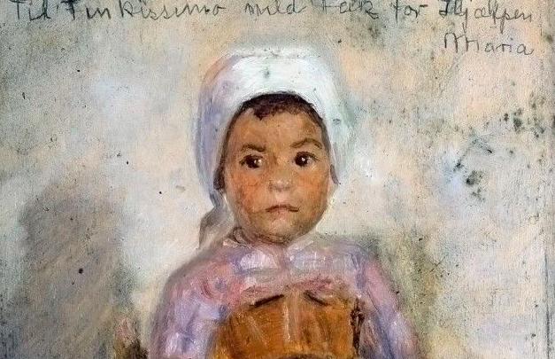 Ritratto di una bambina a Civita d'Antino – Marie Krøyer