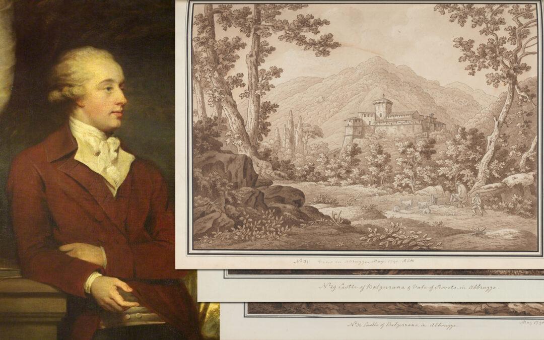 Il Castello di Balsorano nei disegni di Sir Richard Colt Hoare