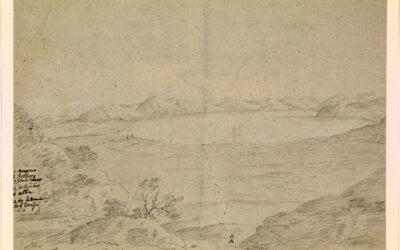 Lago del Fucino – Richard Wilson (attribuito)