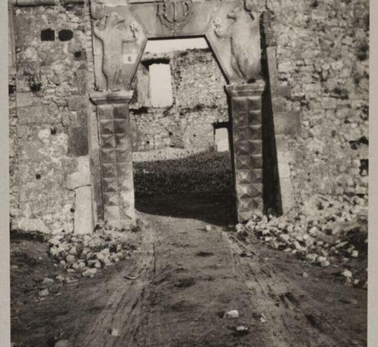 Ingresso del Castello Orsini di Avezzano