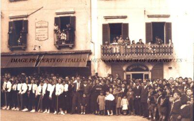Piazza dell'Obelisco a Tagliacozzo – 1937