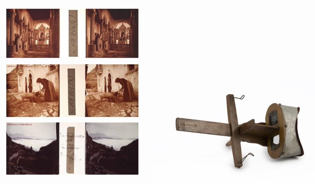 Dalla Biblioteca Vallicelliana le fotografie stereoscopiche della Marsica