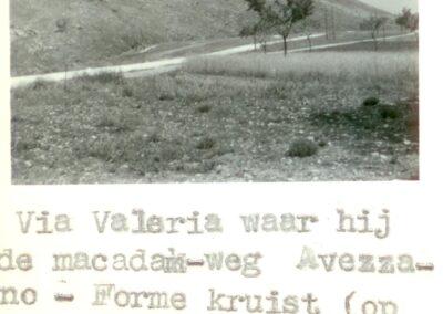 Via Valeria - Forme