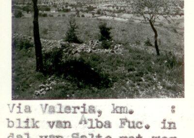 Via Valeria - Alba Fucens