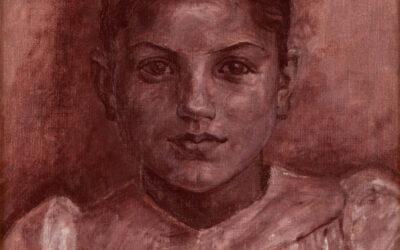 Ritratto di Emilia – Civita d'Antino – Kristian Zahrtmann
