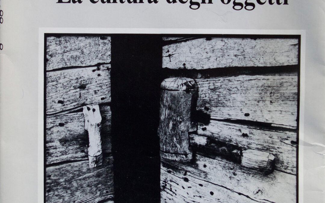 La cultura degli oggetti – Vincenzo Battista e Lorenzo Nanni
