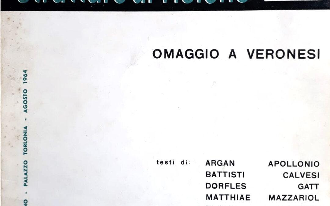 Strutture di Visione – Omaggio a Veronesi – XV Premio Avezzano (1964)